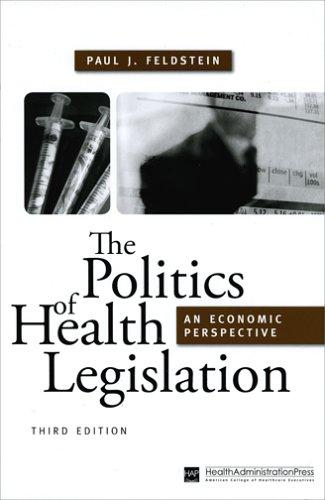 The Politics of Health Legislation: An Economic Perspective