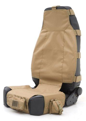 Smittybilt 5661024 GEAR Tan Front Seat Cover