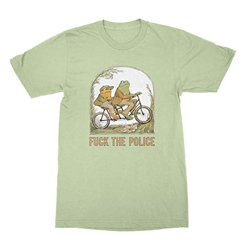 Frog Toad Police Shirt F The Police T Shirt