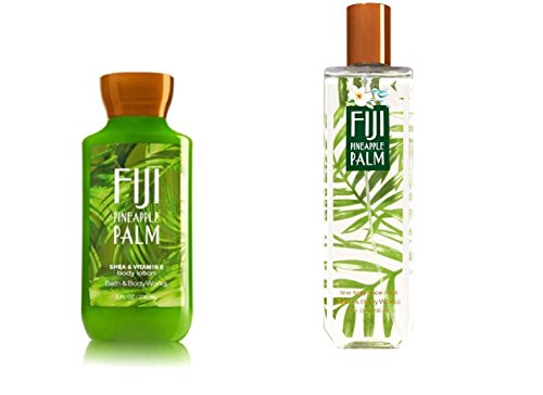 Fiji Blend Lotion - Bath and Body Works Fiji Pineapple Palm Fragrance Mist and Lotion Set