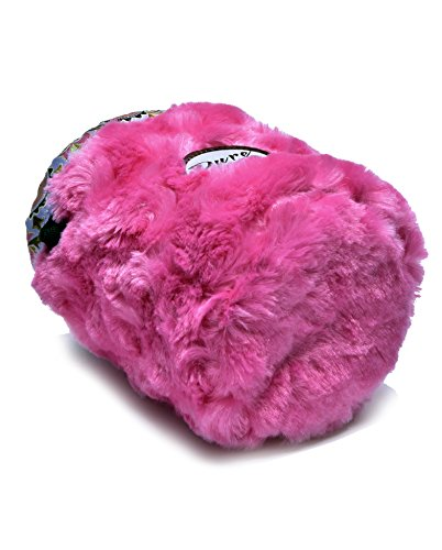 Little Kid Sized I LOVE Pink Chalk Bag For 3-8 Year Olds (USA made) by Pure Grit by Pure Grit (Image #2)