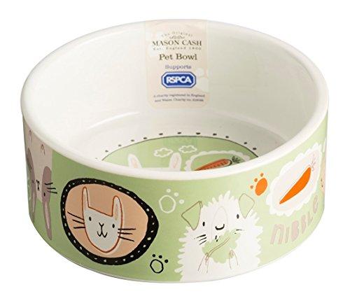 (Mason Cash Ceramic Cartoon Rabbit Bowl, 4-3/4-Inches, 23-Fluid Ounces, Multi Colored )