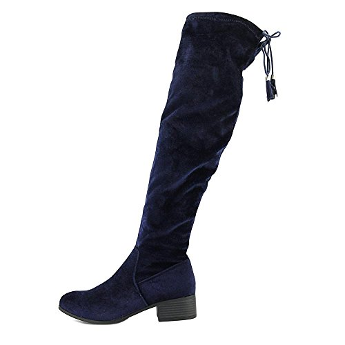 Madden Jente Kvinners Prissley Riding Boot Navy Stoff