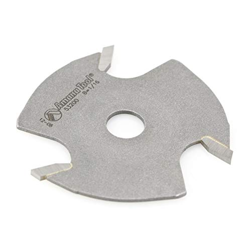 Amana Tool - 53200 Slotting Cutter 3 Wing x 1-7/8 Dia x 1/16 x 5/16 Inner Dia (100 Slotting Cutter)