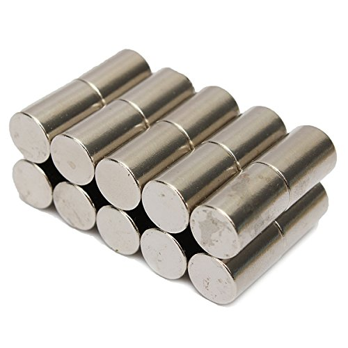 20pcs N50 10mmx15mm Super Strong Round Rare Earth Neodymium Magnets SINGLE ITEM