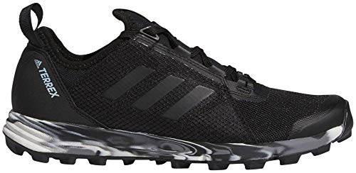 adidas outdoor Terrex Agravic Speed Shoe - Women's Black/Black/Ash Grey 9 - Plush Womens Adidas