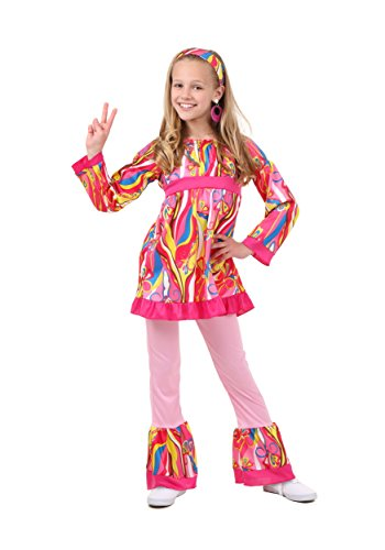 Fun Costumes Disco Top And Bell Bottoms Costume Medium (Disco Costumes For Kids)
