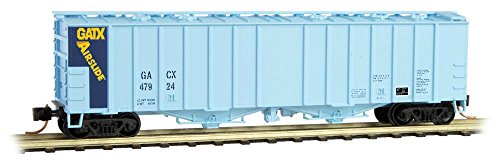 Airslide Hopper 50 Covered - Micro-Trains MTL N-Scale 50ft Airslide Covered Hopper GATX Demonstrator #47924