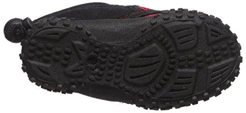 Kinder Kinder Wave Wasser Schuhe Pool Beach Aqua Socken Schwarz Rot
