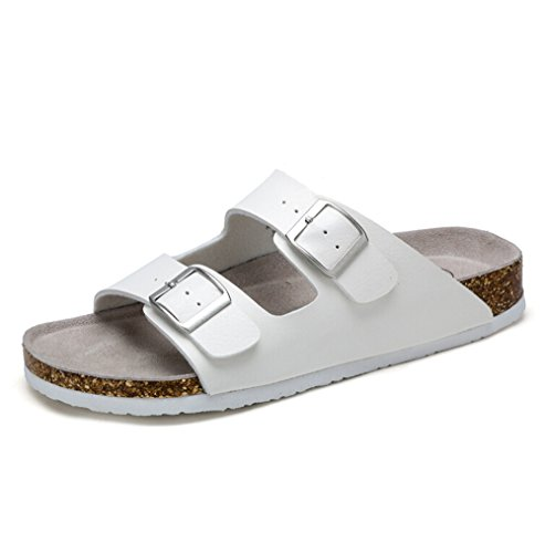 Buckle White EU M Size Straps Casual Mens 39 Camel Color Sandals YHUfSwxn
