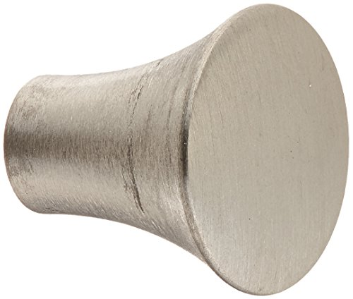 Atlas Homewares A855-SS 2-Inch Fluted Knob from the Fluted Collection, Stainless Steel