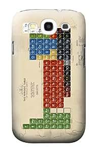 E1695 The Periodic Table of Middle Earth Funda Carcasa Case para Samsung Galaxy S3