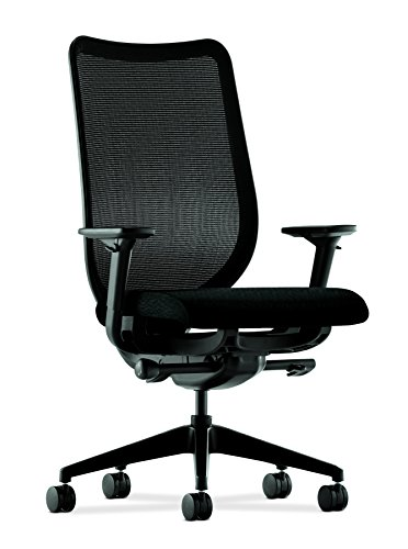 Nucleus Series Task Chair in Grade III Fabric, Black Tectoni
