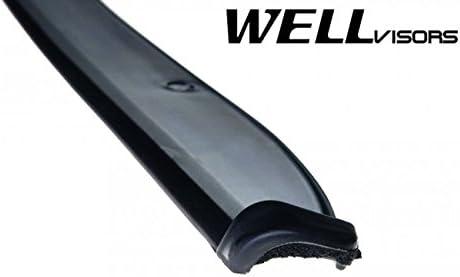 WellVisors Window Visors 2002-2006 For Toyota Camry Sun Rain Visor Deflectors