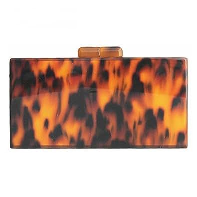 Fashion Clutch women messenger bags Prom Wallet elegant Amber stylish handbag Woman party evening bag