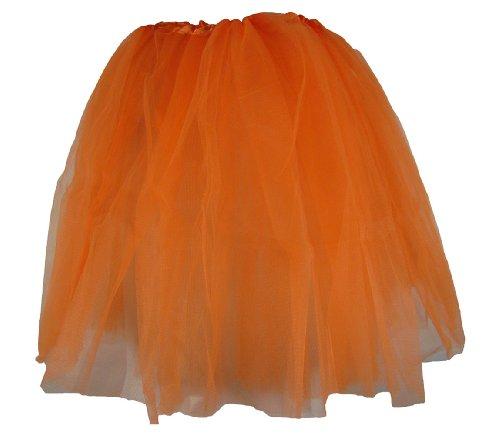Hairbows Unlimited Teen & Adult Orange Dance or Ballet -