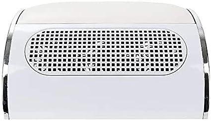 AZOREX Aspirador Uñas de Polvo Manicura Succión Colector de Polvo para Uñas con 3 Motor de Mesa Manicura y Pedicura con Bolsos Colectivo (Blanco): Amazon.es: Belleza