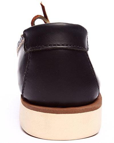 Psyberia Mens Achilles Low Leather Shoes Black Hoeg1q0eFZ