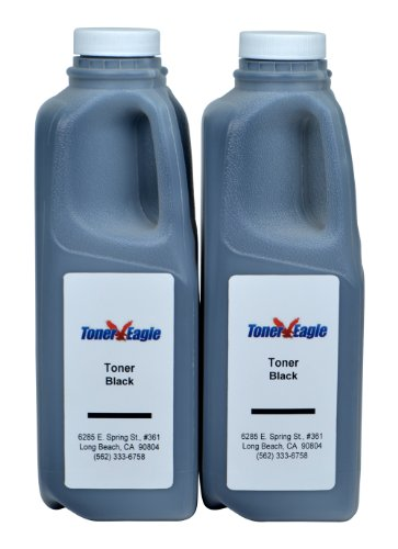 Toner Refill Kits (2) with Chips For Tally Genicom 9045 9045N 043848 43848. 1560gr. By Toner (9045n Laser Printer)