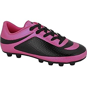 Vizari Infinity FG 93344-8 Soccer Cleat (Toddler), Pink/Black, 8 M US