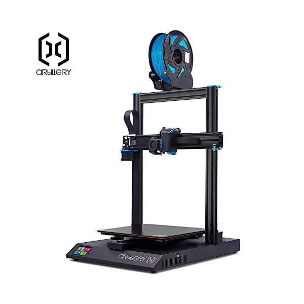 Artillery Sidewinder X1 3D Printer 2019 Newest 95% Pre-Assembled 300x300x400 Model...