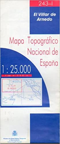 MAPA TOPOGRÁFICO NACIONAL DE ESPAÑA. Escala 1:25.000. 243-I. EL ...
