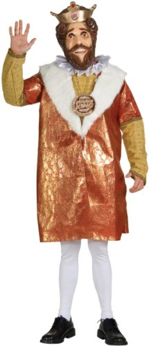 Deluxe Burger King Costume (Burger King Costume Halloween)