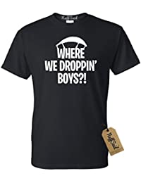 Youth Where We Droppin Boys T-Shirt - Video Game Tee
