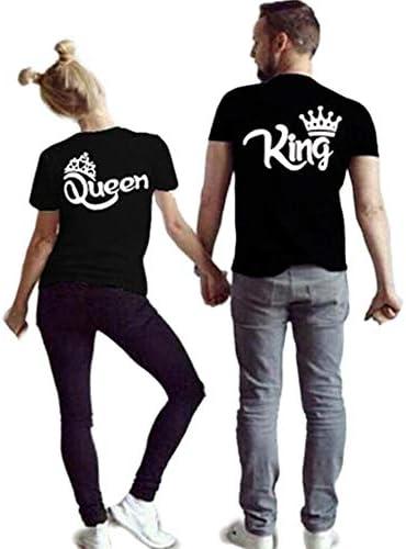 (JUTAOPIN)親子ペアルック t シャツ おそろい 親子服 親子ペア tシャツ 半袖 夏 大きいサイズ S M L XL 2XL 3XL