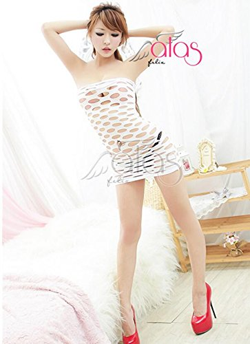 ac71dcfdb4ada Sesexxy The Princess Dress Temptation Large mesh Tight White Bag Hip Size  Siamese nets Extremely Sexy