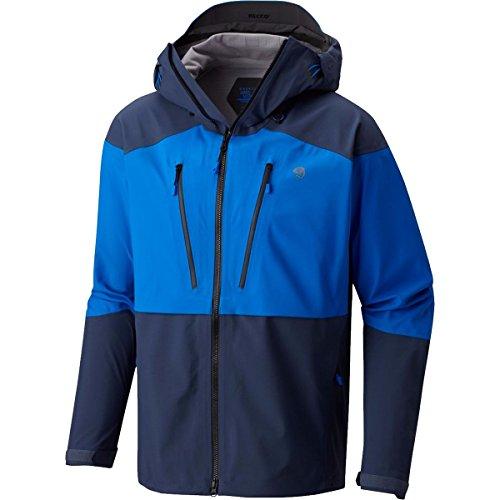 Mountain Hardwear Men's Cyclone Jacket, Altitude Blue, Zinc, -