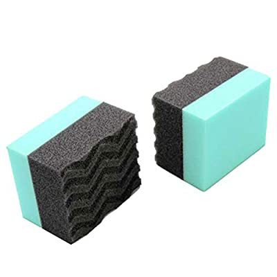 Chemical Guys Acc_3002 Wonder Wave Durafoam Contoured Large Tire Dressing Applicator Pad (Pack of 2): Automotive