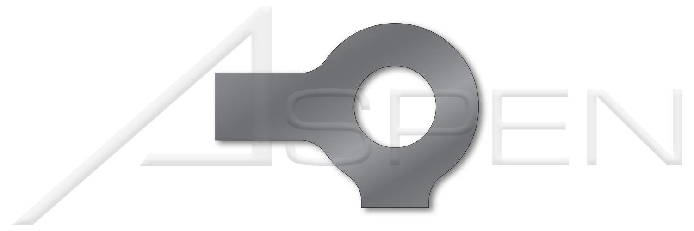 (75 pcs) M20, DIN 463, Metric, Tab Washers, 2 Tabs, Steel, Plain