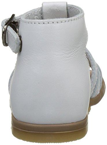 Bébé Chaussures Blanc Premiers Blanc Fille Little Mary Perlado Hosmose Pas Blanc q4SHAw