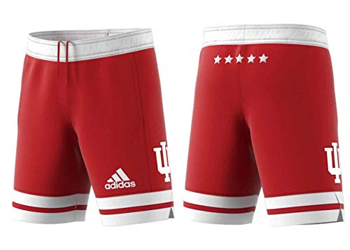 Indiana Hoosiers Adult NCAA Replica Basketball Shorts - Cardinal, X-Large