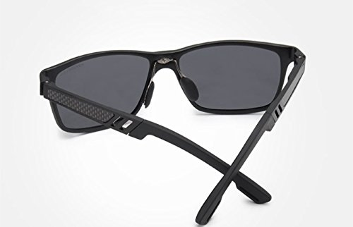 alta calidad de clásica polarizadas para color de hombre polarizadas moda moda de buena cristales de polaroid gafas Gafas moda Gafas azul calidad sol polaroid de de sol de baratas Gris el polarizadas Uwqpx11XA0