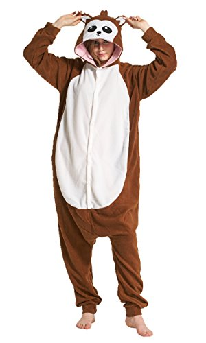 Polar Fleece Couples Halloween Costumes Unisex Monkey Pajamas -