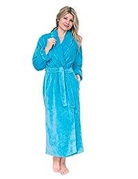 Bath & Robes Women's Shawl Long Chenille Robe Bathrobe