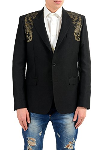 Used, Versace Collection Men's Silk Detailed Blazer Sport for sale  Delivered anywhere in USA