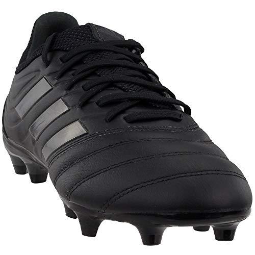 adidas Mens Copa 19.3 FG Soccer Cleats (11.5, Black/Black)
