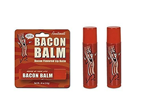 Accoutrements Bacon Lip Balm - 2 Packs - 2 Pack Bacon
