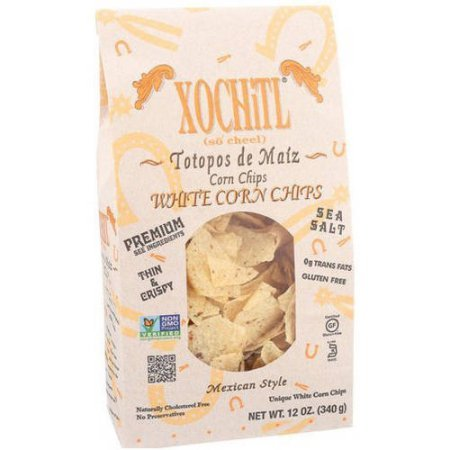 Xochitl Salted White Corn Tortilla Chips 12 oz (Pack of 3)