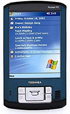 Toshiba Pocket PC e800 with Microsoft Windows Mobile 2003