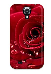 Crystle Marion's Shop Best 9433570K44228105 Snap-on Case Designed For Galaxy S4- Rose Widescreen
