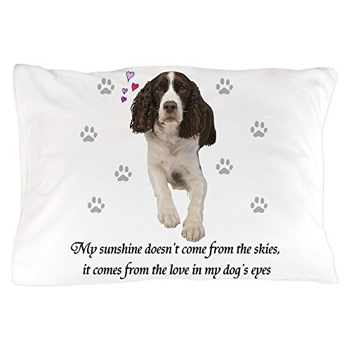 CafePress - English Springer Spaniel - Standard Size Pillow Case, 20