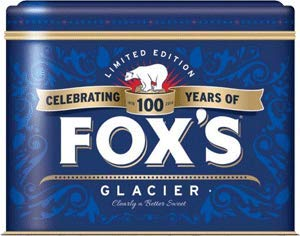 Fox's Glacier Mints Holiday Tin (16oz) Ireland Import ()