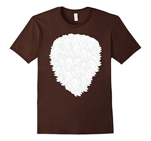 Mens Halloween Fox, Deer, Buck, Doe, Wolf Costume T shirt Large Brown