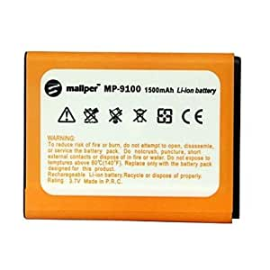 Mallper 1500mAh High Capacity Li-ion Battery for Samsung Galaxy S2/I9100