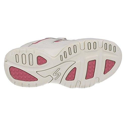 Start-rite Meteor, Zapatillas Deportivas Interior, Infantil multicolor - blanco/rosa
