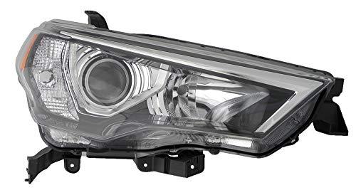 For 2014 2015 2016 Toyota 4Runner Headlight Headlamp Passenger Side Replacement